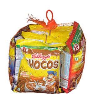 KELLOGG`S CHOCOS VARIETY PACK 135G