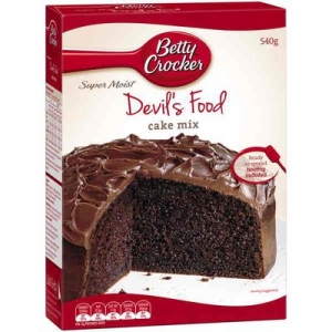 BETTY CROCKER DEVIL`S FOOD CAKE MIX 475G