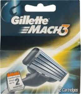 GILLETTE MACH 3 CARTRIDGES 2