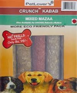 PETLOVERS CRUNCH KABAB MIXED MAZAA 400G