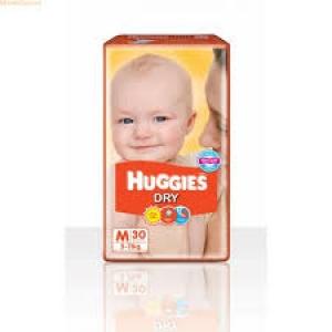 HUGGIES DRY M (5-11KG) 30D