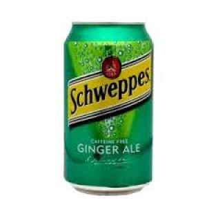 SCHWEPPES ORIGINAL GINGER ALE CAN 300ML