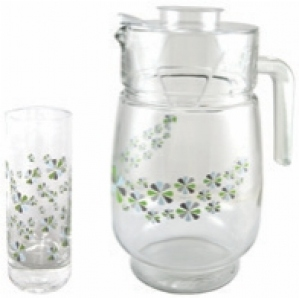ROXX DAISY BLUE 7PCS BEVERAGE SET -8026
