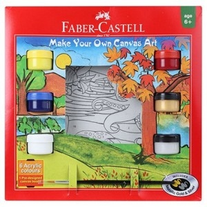 FABER-CASTELL MAKE YOUR OWN CANVAS ART KIT