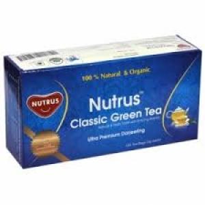 NUTRUS CLASSIC GREEN TEA 20 PYRAMID BAGS