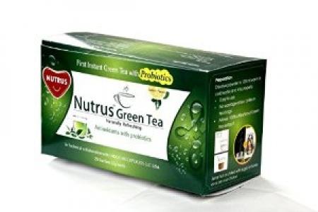 NUTRUS PROBIOTIC GREEN TEA 20 SACHETS
