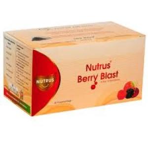 NUTRUS BERRY BLAST 20 PYRAMID BAGS