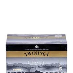 TWININGS CLASSIC ASSAM TEA 25 TEA BAGS