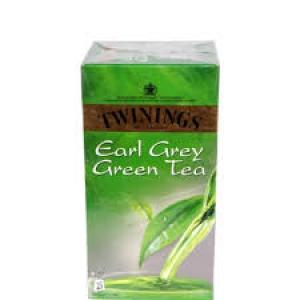 TWININGS EARL GREY GREEN TEA 25 TEA BAGS