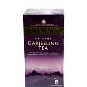 TWININGS DARJEELING TEA 25 TEA BAGS