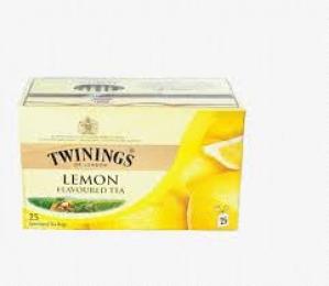 TWININGS LEMON TEA 25 TEA BAGS