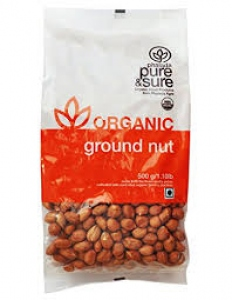 PHALADA ORGANIC GROUND NUT 500G