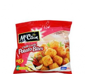 MCCAIN CHILLI GARLIC POTATO BITES 200G