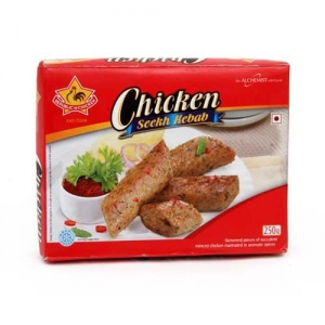 REPUBLIC OF CHICKEN SEEKH KEBAB 500G