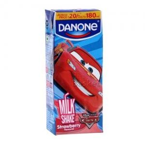 DANONE MILK SHAKE STRAWBERRY 180ML