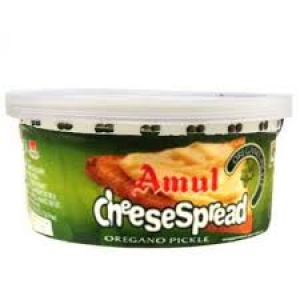 AMUL CHEESE SPREAD OREGANO PICKLE 200G