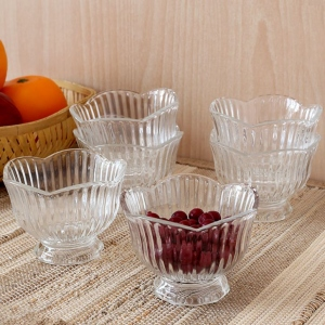 ROXX CELSIA FOOTED BOWL SET 6PCS