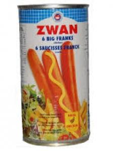 ZWAN PORK BIG FRANKS 560G