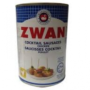 ZWAN PORK COCKTAIL SAUSAGES LIGHT 400G