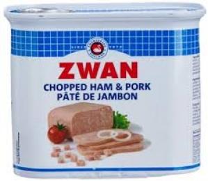 ZWAN CHOPPED HAM & PORK 340G