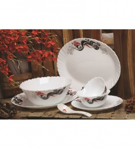 ROXX TWILIGHT WAVES DINNER SET 21PCS