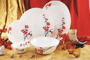 ROXX CHERRY BLOSSOM DINNER SET 21PCS