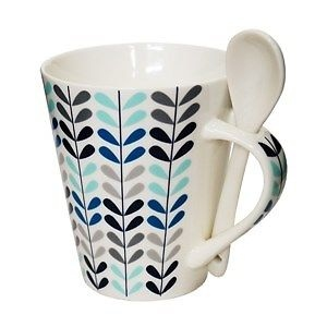 ROXX CREEPER MUG WITH SPOON
