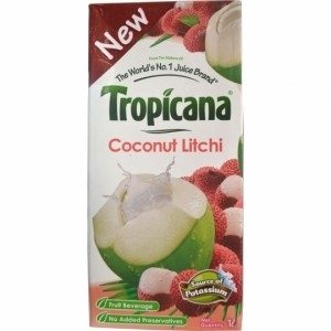 TROPICANA COCONUT LITCHI 200ML