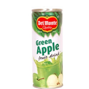 DEL MONTE GREEN APPLE FRUIT DRINK 240ML