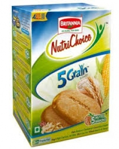 BRITANNIA NUTRI CHOICE 5 GRAIN DIGES BISCUITS 200G
