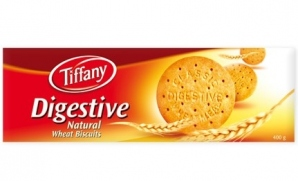 TIFFANY DIGESTIVE NATURAL WHEAT BISCUITS 250G