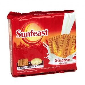 SUNFEAST GLUCOSE BISCUITS  220GM