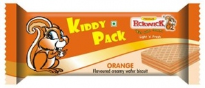 KIDDY PACK ORANGE WAFER 15G