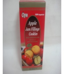 OYA APPLE JAM FILLINGS COOKIES 120G