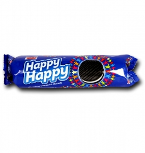 PARLE HAPPY HAPPY CHOC-VAN  SANDWICH BISCUITS 75G