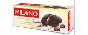 PARLE MILANO CENTRE FILLED DARK COOKIES 75G