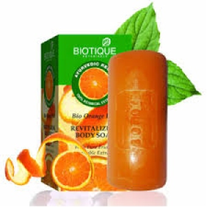 BIOTIQUE BIO ORANGE PEEL SOAP 150G
