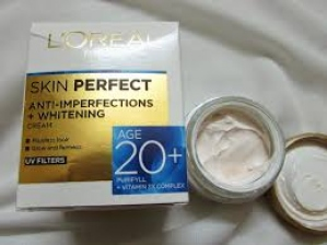 LOREAL PARIS SKIN PERFECT CREAM UV FILTERS 20+ 50G