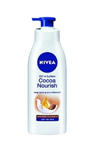 NIVEA OIL IN LOTION COCOA NOURISH 400ML