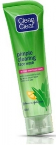 J & J CLEAN & CLEAR PIMPLE CLEARING FACE WASH 80ML