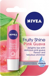 NIVEA LIP FRUITY SHINE PINK GUAVA 4.8G
