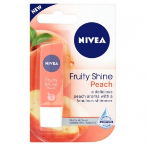 NIVEA LIP FRUITY SHINE PEACH 4.8G