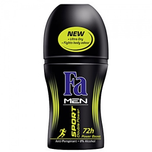 FA MEN SPORT DOUBLE POWER ROLL ON 50ML