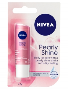 NIVEA LIP PEARLY SHINE 4.8G