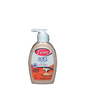 FEM SOFT HANDZ FIGHT GERMS 250ML