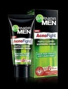 GARNIER MEN ACNO FIGHT WHITENING CREAM 45G