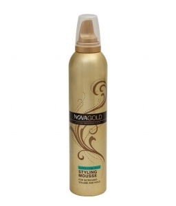NOVA GOLD SUPER FIRM HOLD STYLING MOUSSE 300ML