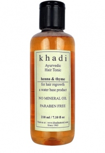 KHADI NATURAL THYME HAIR TONIC 210ML