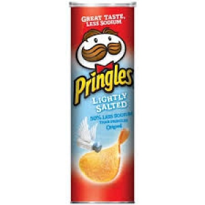 PRINGLES LIGHTLY SALTED 161G