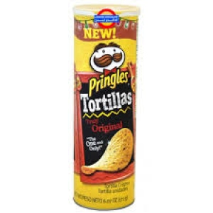 PRINGLES TORTILLAS ORIGINAL 182G